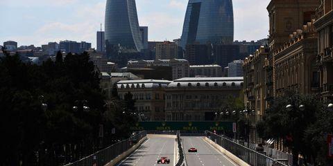 f1 grand prix of azerbaijan  practice