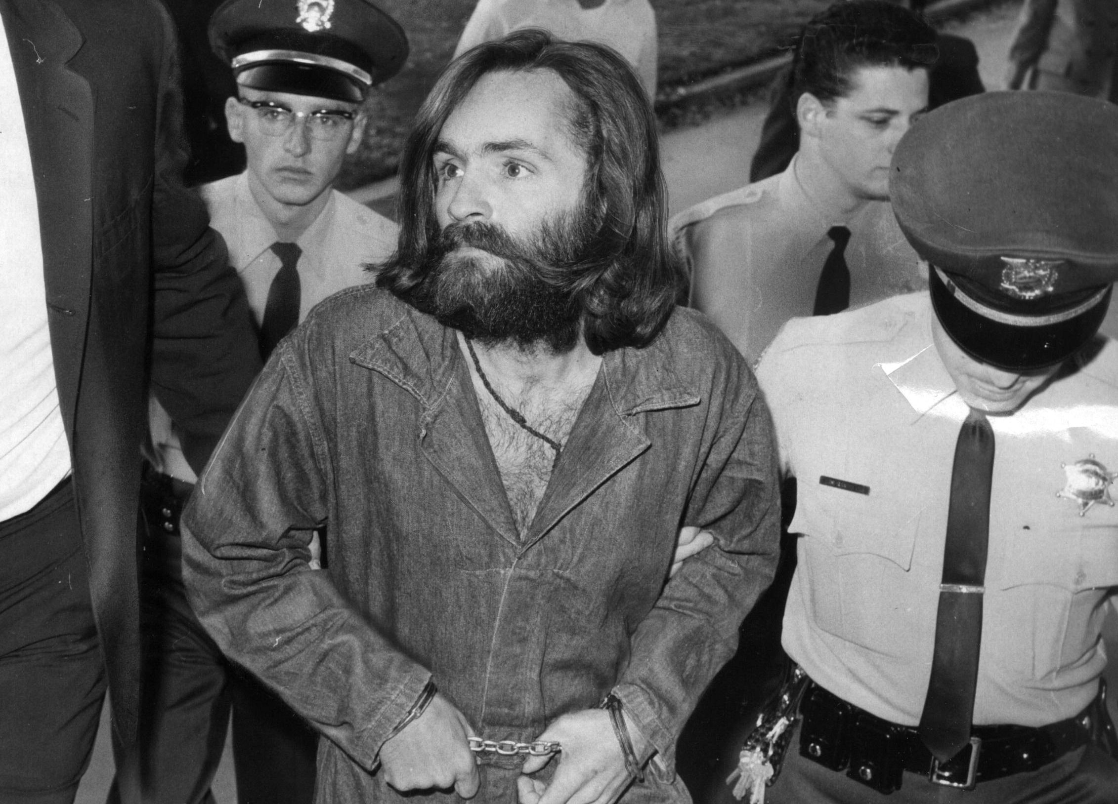find charles manson and the family