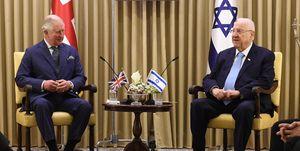 Charles, Prince of Wales in Jerusalem