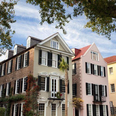 Charleston SC Rainbow Row