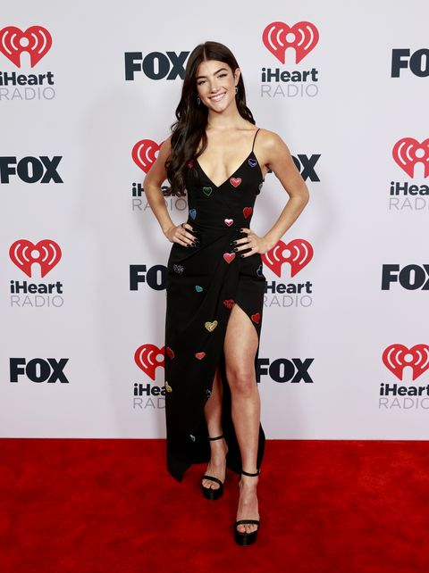 charli d'amelio at the 2021 iheartradio music awards