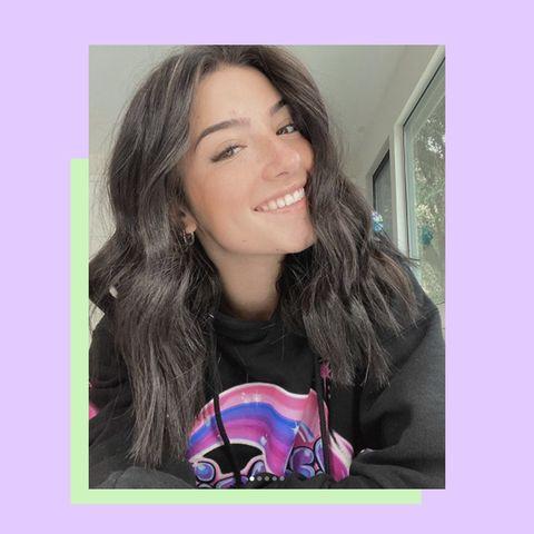 Charli D Amelio Has Secret Purple Hair Now