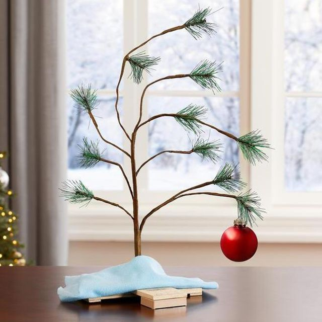 2 foot charlie brown christmas tree
