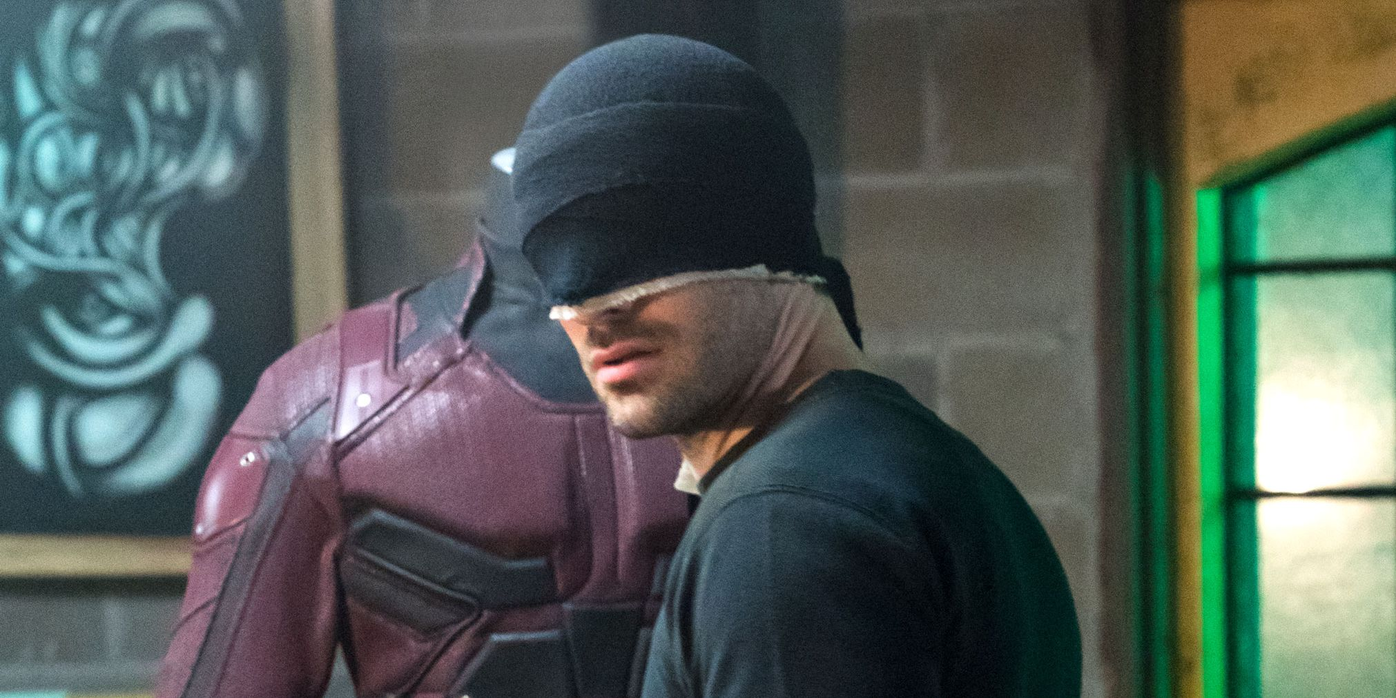 Charlie Cox as Daredevil, season 2