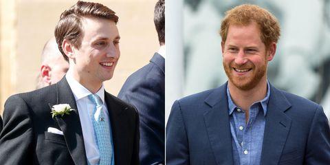 Charlie Von Straubenzee And Prince Harry