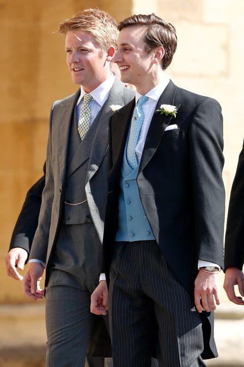 Charlie Van Straubenzee At The Royal Wedding