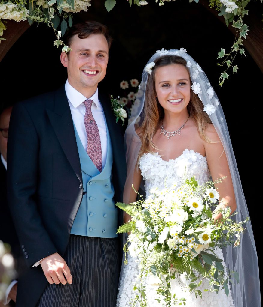 Charlie Van Straubenzee married Daisy Jenks on August 4th in Surrey. As one of Prince Harry's best friends, the Duke of Sussex served as best man and attended alongside his new wife, Meghan Markle who was celebrating her 34th birthday .