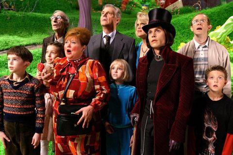 """fotograma de la película """"charlie y la fábrica de chocolate"""""""
