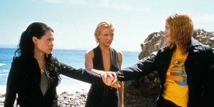 Image: CHARLIE'S ANGELS (2000) LUCY LIU, CAMERON DIAZ, DREW BARRYMORE CHEL 027