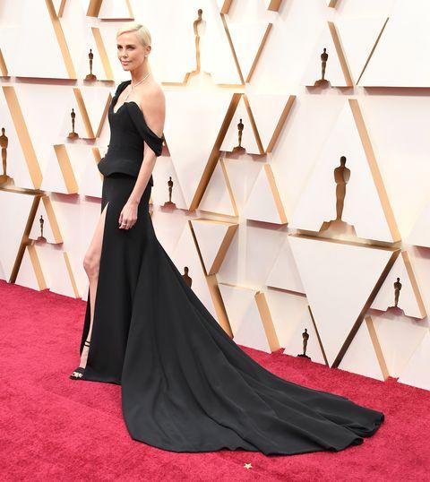 Charlize Theron bij de Oscars 2020