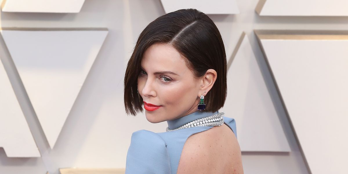 Charlize Theron Just Debuted New Brown Hair At The Oscars 2019