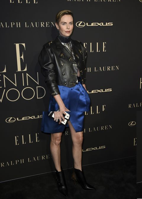Charlize Theron en la gala ELLE Women in Hollywood 2019