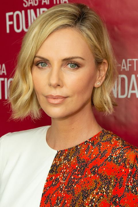 Charlize Theron Bob Styling