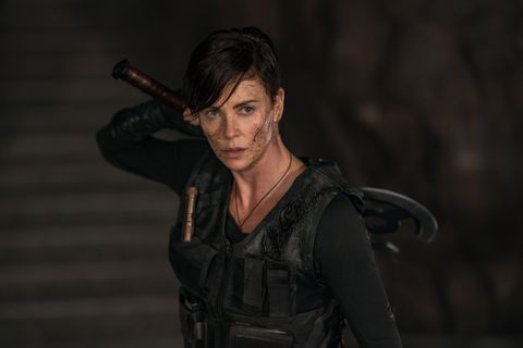 """the old guard   charlize theron as """"andy""""photo credit  aimee spinksnetflix ©2020"""
