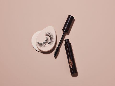 Mascara, Cosmetics, Eyelash, Material property, Eye liner,