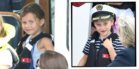 Princess Charlotte Prince George regatta