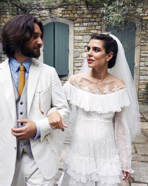 charlotte casiraghi dimitri rassam wedding