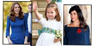 Kate Middleton, Princess Charlotte, Meghan Markle | ELLE UK