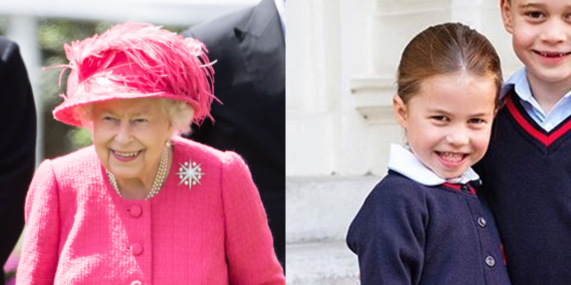 Princess Charlotte Looks Just Like In Her First Day Of School Photo