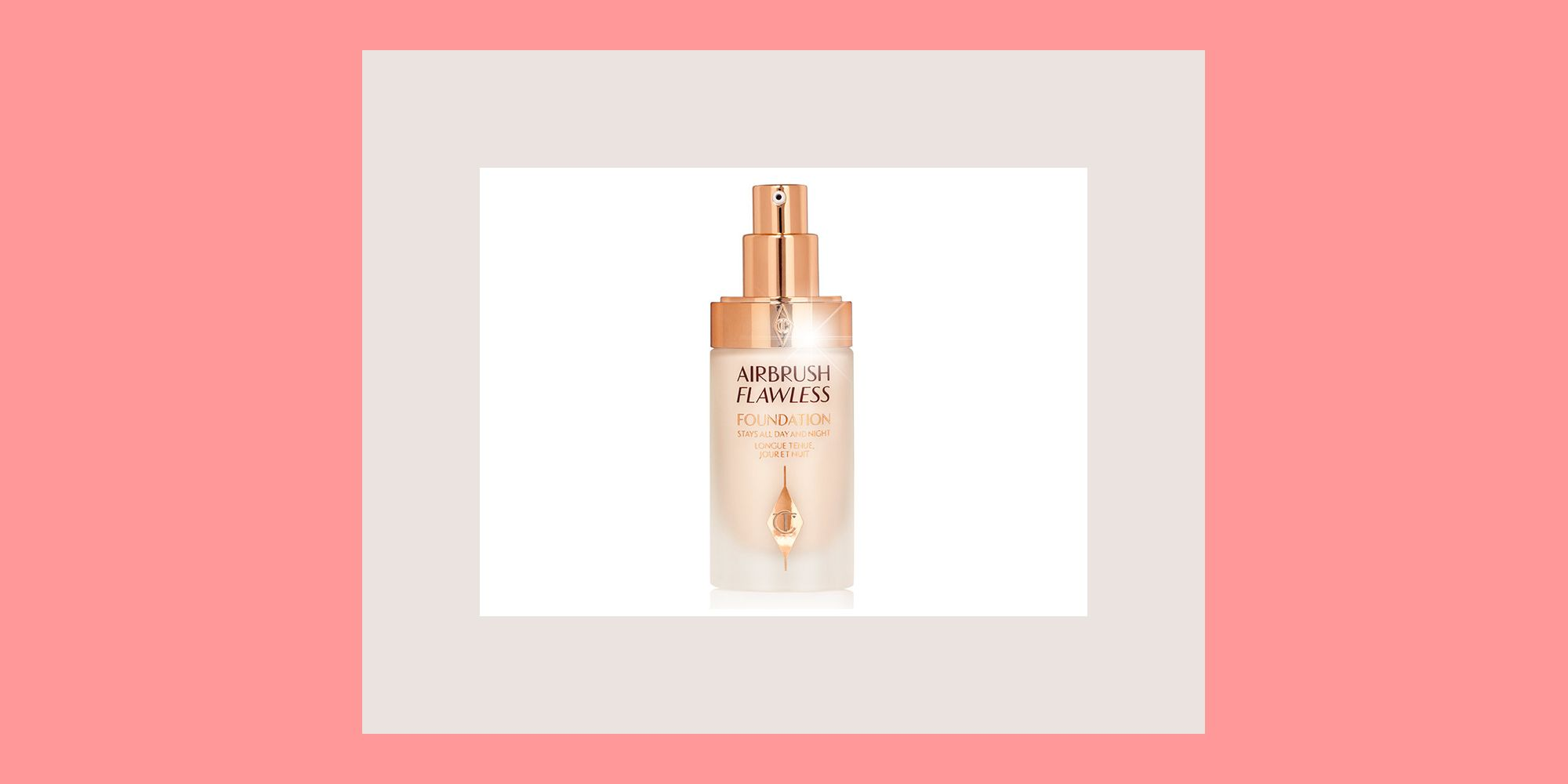 Why 10,000 people have joined the waiting list for Charlotte Tilbury's new Airbrush Flawless Foundation