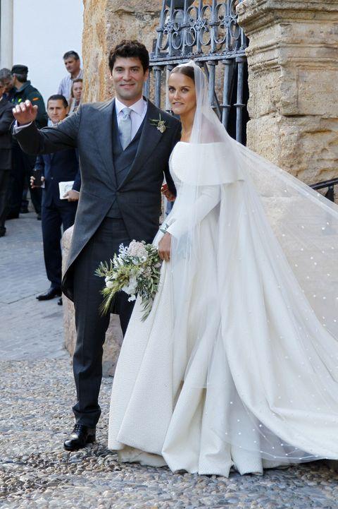 Lady Charlotte Wellesley and Alejandro Santo Domingo Wedding in Granada