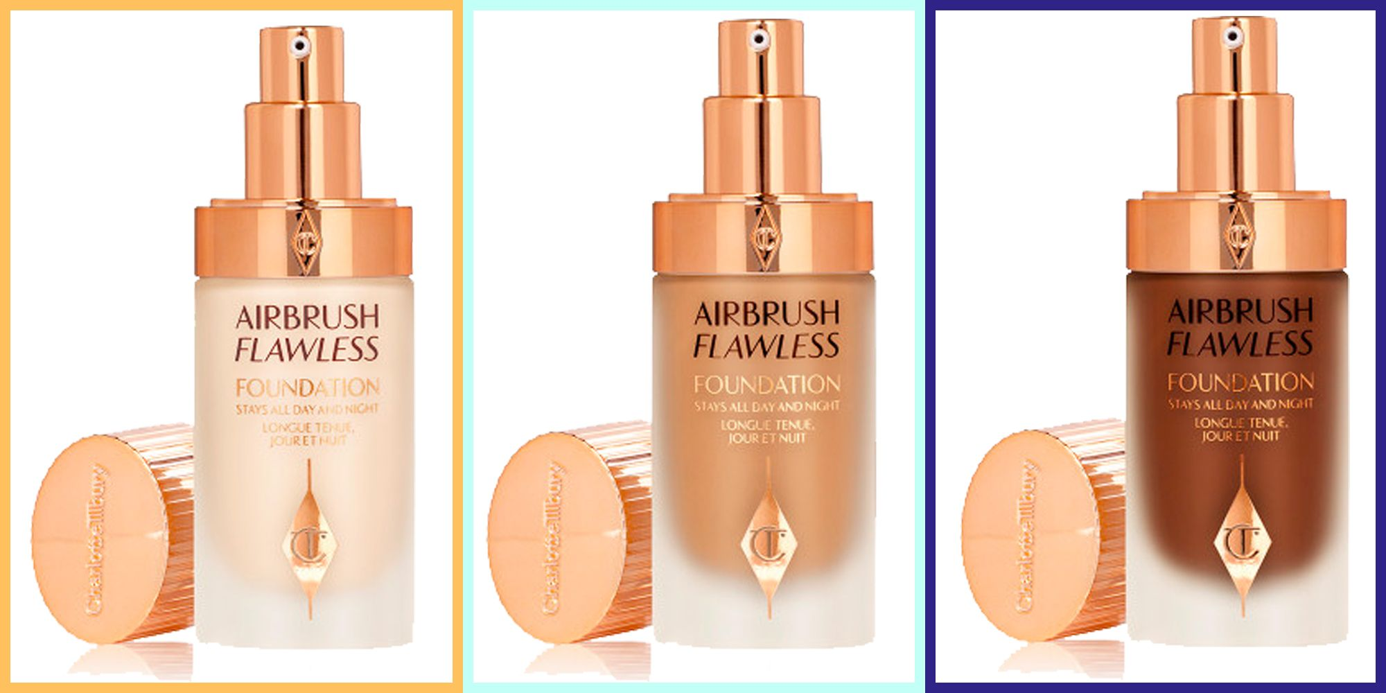 Charlotte Tilbury's Airbrush Flawless Foundation launches following 17,000-strong waiting list