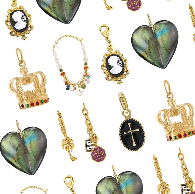 charms, earrings, necklaces, good vibes