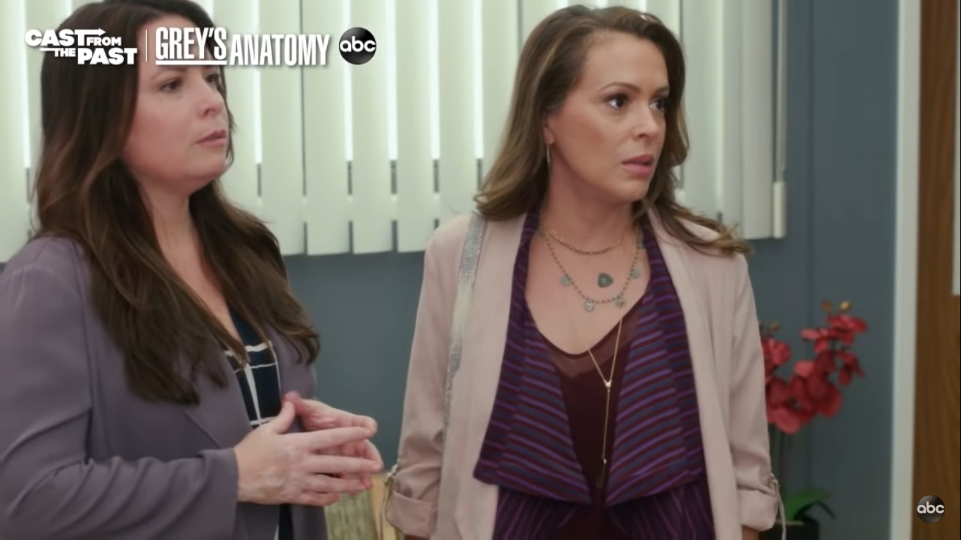 Grey's Anatomy shares a first look at its Charmed reunion