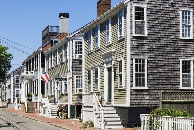 charming homes at nantucket in massachusetts