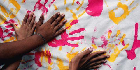 Hand, Finger, Visual arts, Nail, Child art, Art,