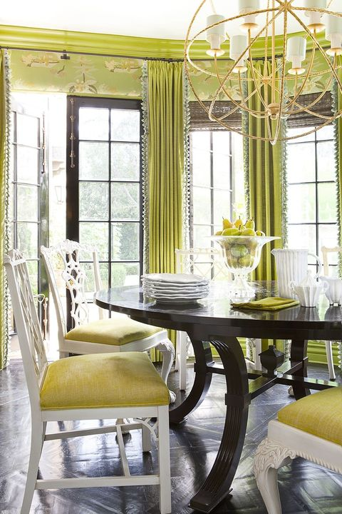how to decorate with chartreuse