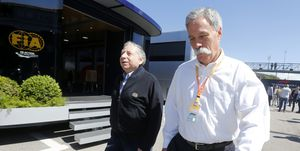 Chase Carey, CEO and Executive Chairman of the Formula One...