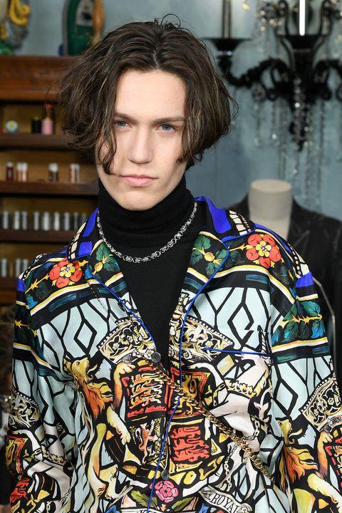 Dolce & Gabbana - Front Row - Milan Men's Fashion Week Fall/Winter 2020/2021