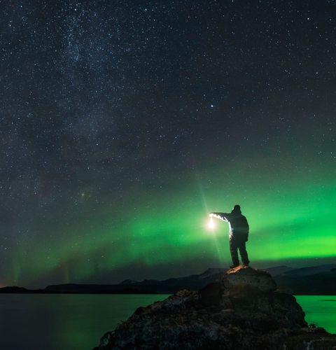 airbnb線上達人體驗 aurora hunting in iceland