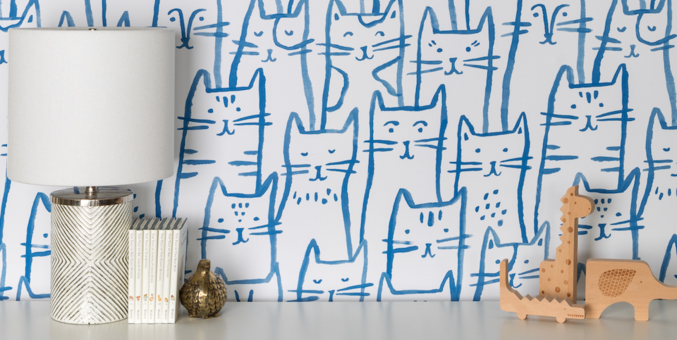 This Removable Wallpaper Lets You Update Your Home Without Commitment