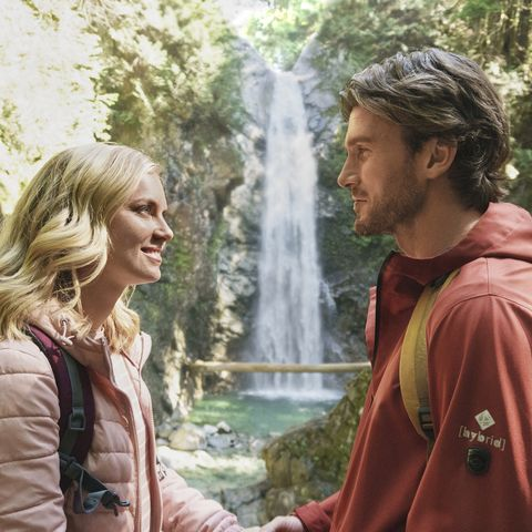 mark  photo cindy busby, christopher russell  chasing waterfalls hallmark spring fling