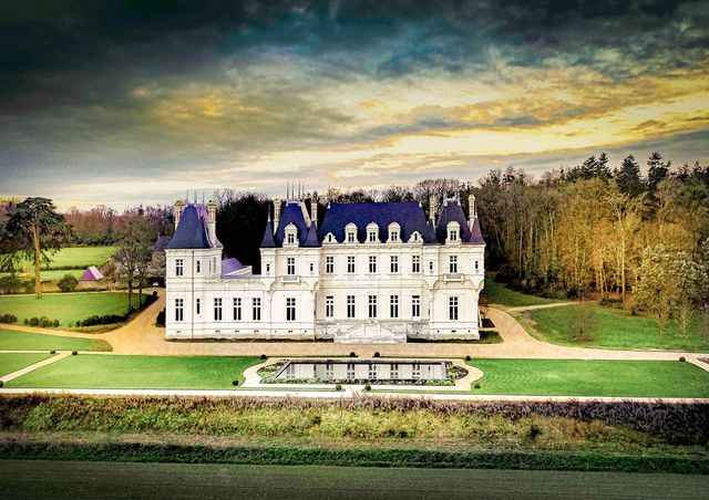 a chateau in loire valley, france is headed to auction on july 15th, 2021 through concierge auctions