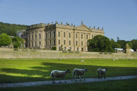 Chatsworth House,Derbyshire.United Kingdom