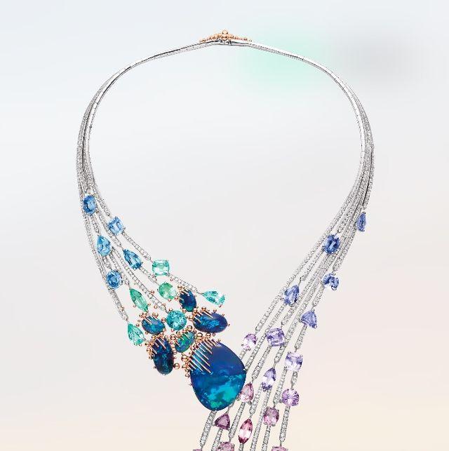 body jewelry, jewellery, fashion accessory, necklace, aqua, turquoise, cobalt blue, gemstone, turquoise, chain,