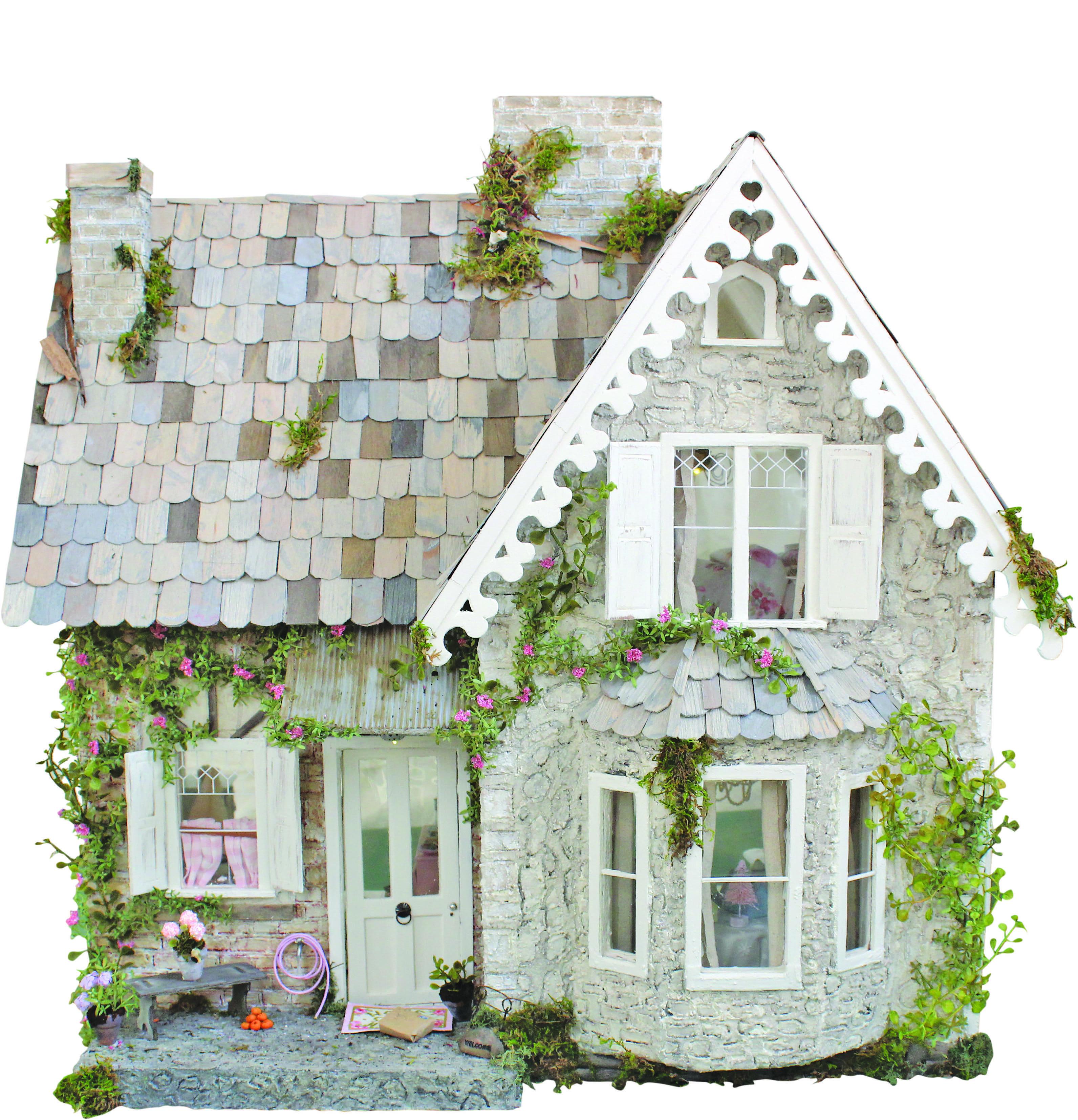 DOLLS HOUSE MINIATURE  TESCO MAGAZINES