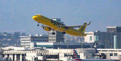 cheap air fare spirit airlines