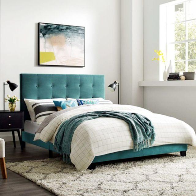 Best Inexpensive Bed Frames Under 200, Platform Bed Bedding