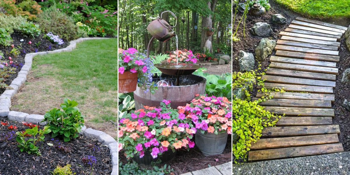 14 Cheap Landscaping Ideas - Budget-Friendly Landscape ... on Affordable Backyard Ideas id=75504