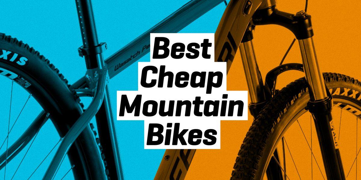 The 16 Best Cheap Mountain Bikes