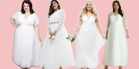 4fcf65d7674 Cheap Plus Size Wedding Dresses 2018 - 13 of our High Street Favourites