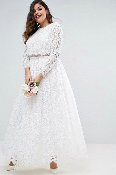 Cheap plus size wedding dresses - ASOS Curve