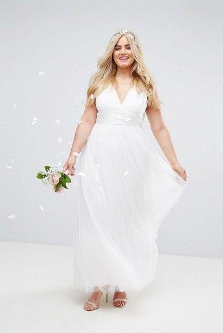 Asos Wedding Dress.Cheap Plus Size Wedding Dresses 2018 13 Of Our High Street