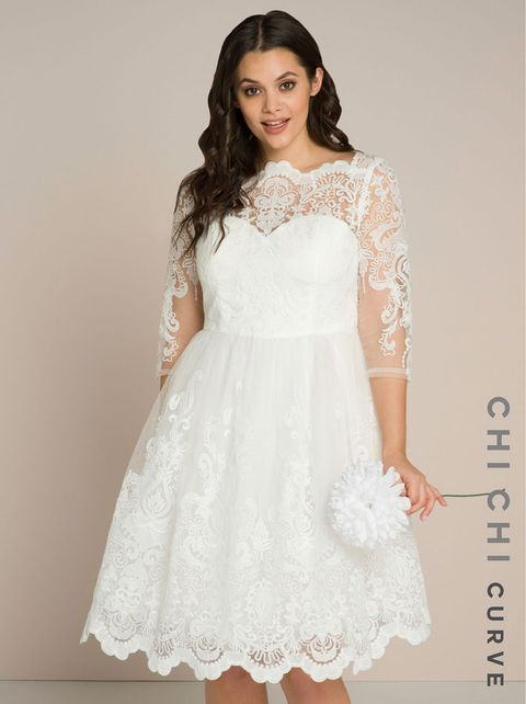 Cheap Plus Size Wedding Dresses 2018 - 13 of our High Street ...