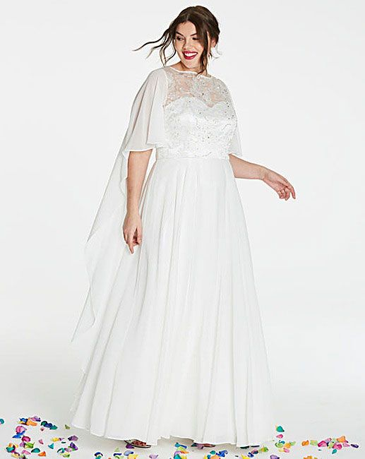 ae7f633af12 Cheap Plus Size Wedding Dresses 2018 - 13 of our High Street Favourites
