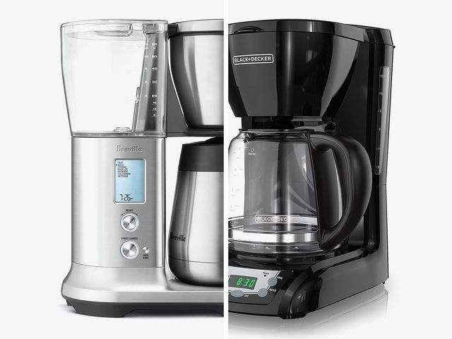 two coffee makers